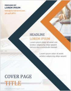 Download Contoh Cover Laporan Sampul Laporan Laporan Tahunan Desain Profil Perusahaan