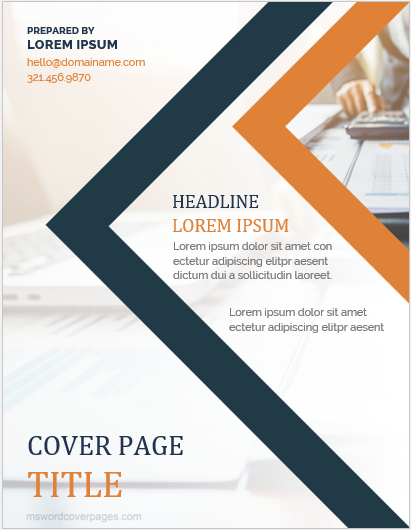 5 best printable cover page templates for ms word