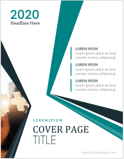 5 best business report cover page templates for ms word