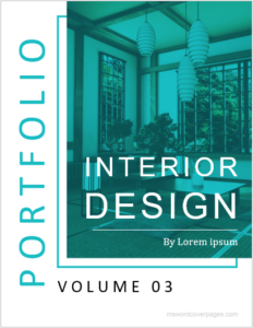 Interior Design Cover Page