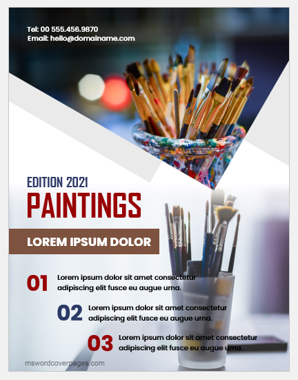 Painting cover page