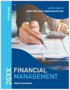 Financial Management Cover Page