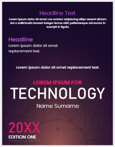 Technology Cover Page