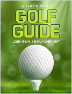 Golf guide cover page
