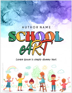 School art project cover page