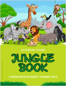 Jungle book cover page