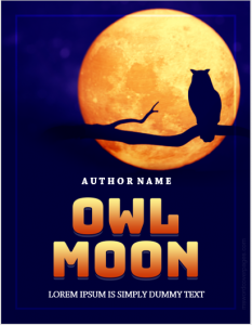 Owl moon book cover page