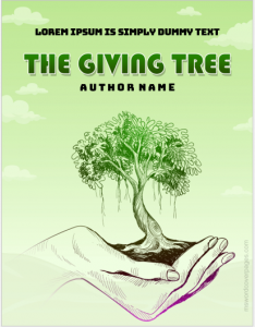 The Giving Tree book cover page